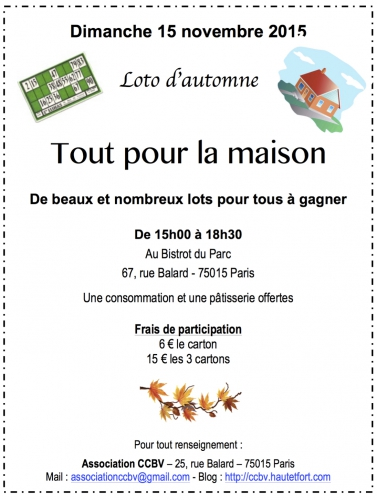 loto,paris 15,association,ccbv