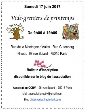 vide-greniers,paris 15,ccbv,association,parc andré citroën