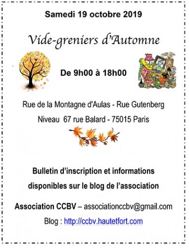 vide-greniers,paris,parc andré citroën,75015,brocante,asociation,ccbv