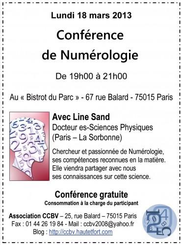conference,numérologie,ccbv,paris 15,line dand