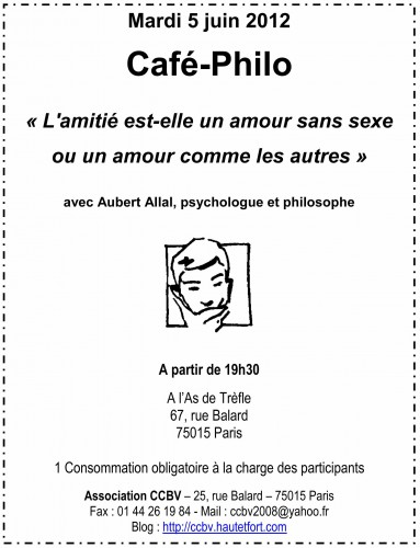café,philo,aubert allal,ccbv,paris,15,9 mai 2012